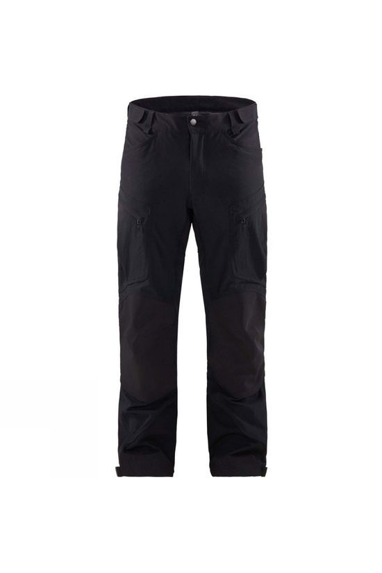 Haglofs Mens Rugged Mountain Pant True Black Solid