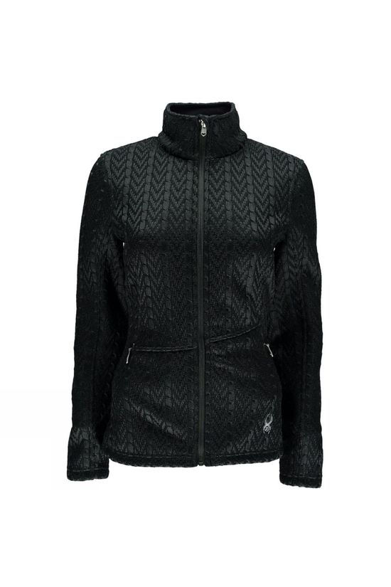 Spyder Women's Major Cable Core Sweater Black