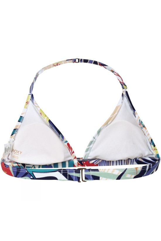 Roxy Women's Canary Islands Fixed Tri Bikini Top Floral Print