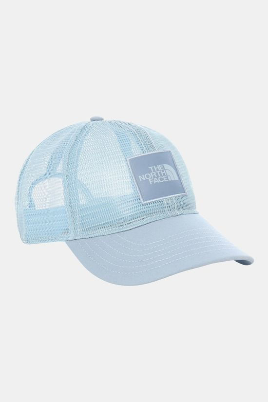 The North Face Mens Mudder Novelty Mesh Trucker Hat Faded Blue
