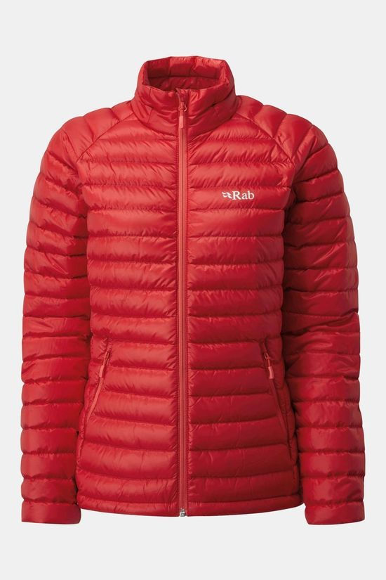 Rab Womens Microlight Jacket Ruby / Crimson
