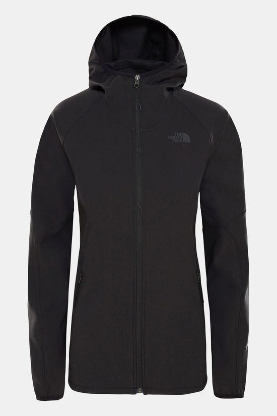 The North Face Womens Nimble Hoodie Softshell Jacket TNF Black/TNF Black