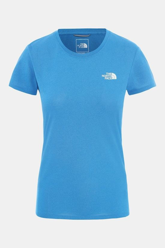 The North Face Women's Reaxion Amp Crew Clear Lake Blue Heather