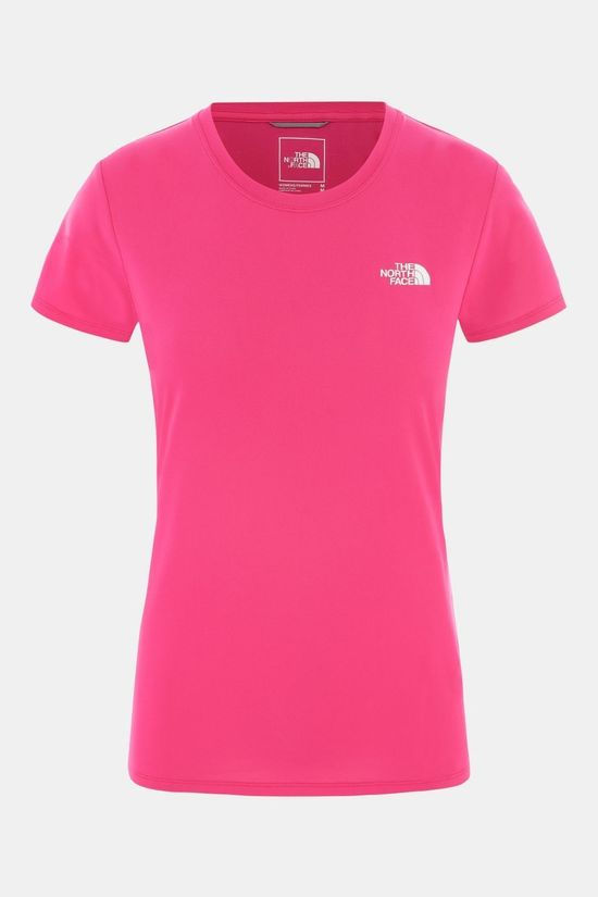 The North Face Women's Reaxion Amp Crew Mr.Pink