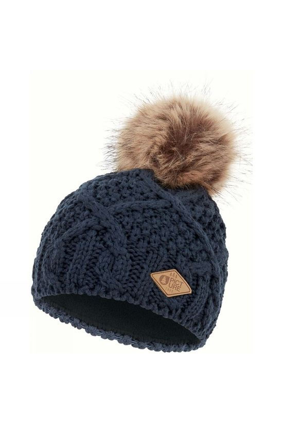 Picture Womens Jude Beanie Dark Blue