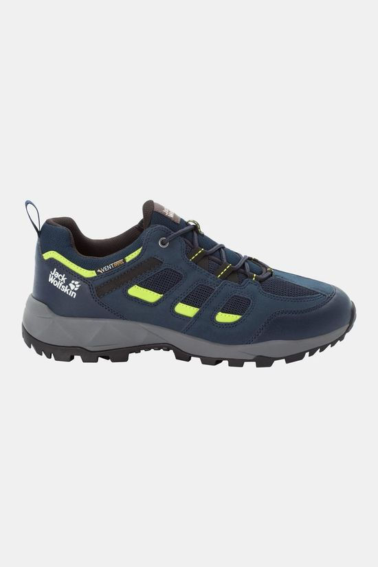Jack Wolfskin Vojo Hike Xt Vent Low Shoe Dark Blue / Lime