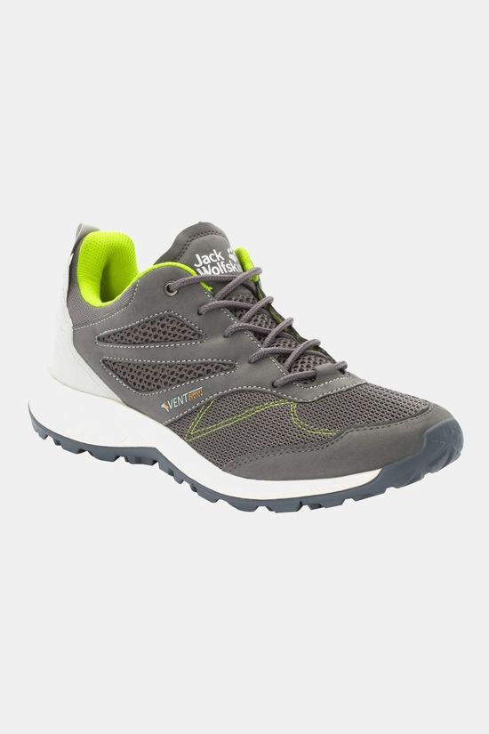 Jack Wolfskin Woodland Vent Low Shoe Grey / Lime