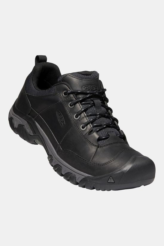 Keen Men's Targhee III Oxford Shoe Black/Magnet