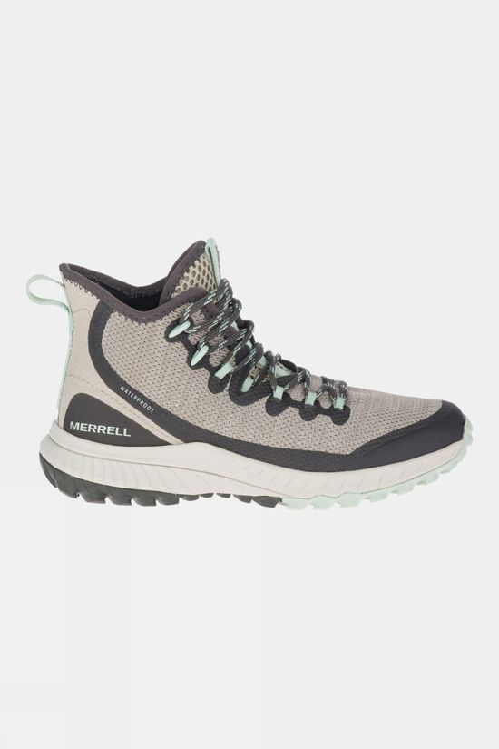 Merrell Womens Bravada Mid Waterproof Boot Aluminum