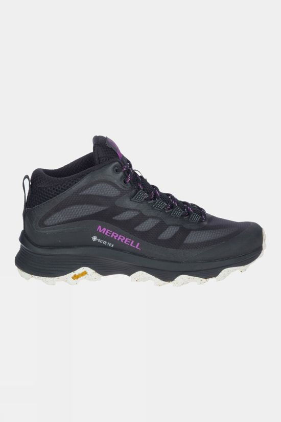 Merrell Womens Moab Speed Mid GTX Boot Black