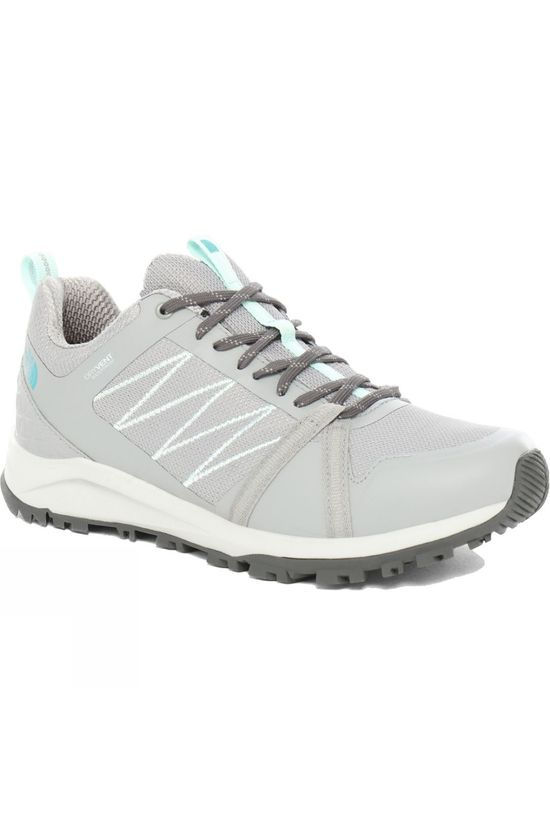 The North Face Womens Lightwave Fastpack II WP Griffin Grey/Dark Shadow