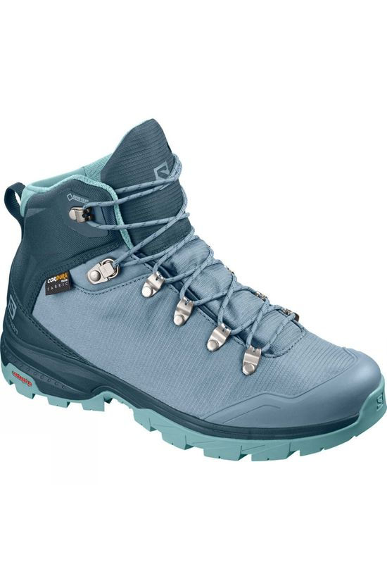 Salomon Womens OutBack 500 Mid GTX Boot Bluestone/Reflecting Pond/Nile Blue