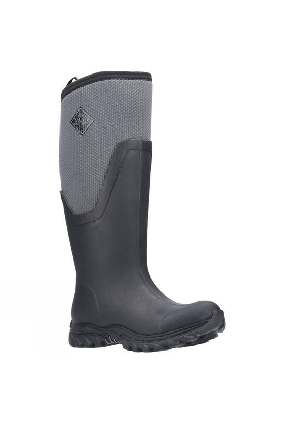 Muck Boot Womens Arctic Sport Tall Boot Black/Grey