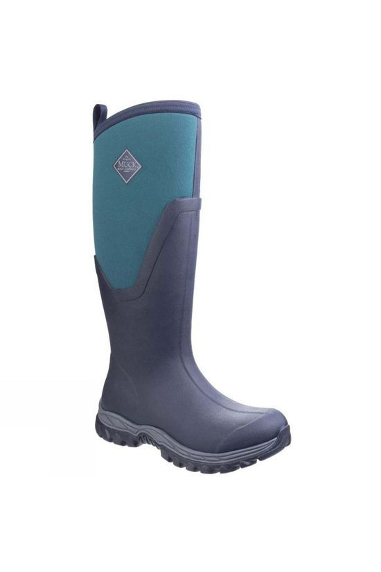 Muck Boot Womens Arctic Sport Tall Boot Navy/Spruce
