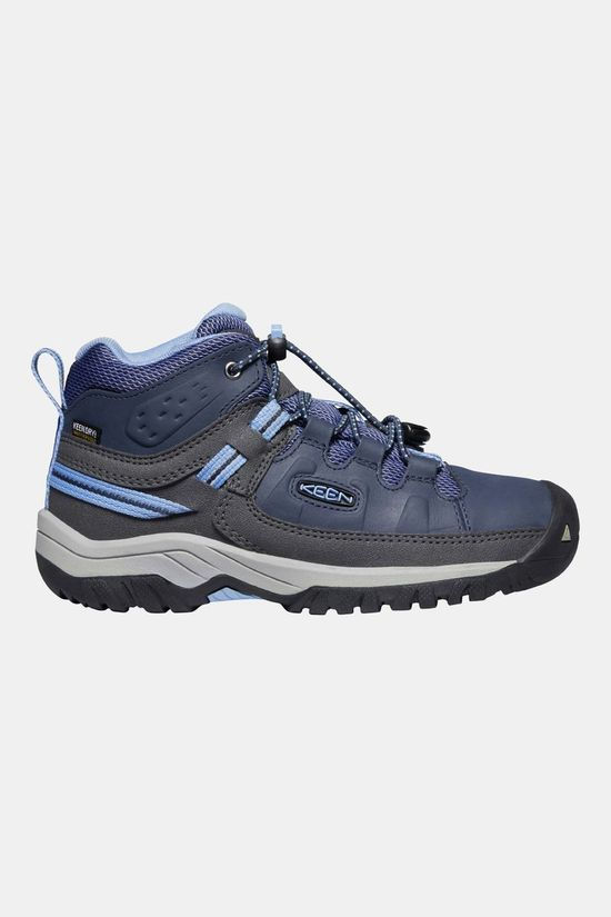 Keen Youth Targhee Mid WP Boot Blue Nights/Della Blue