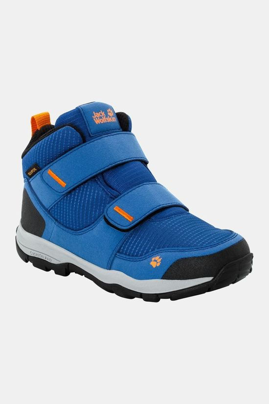 Jack Wolfskin Kids Mtn Attack 3 Texapore Mid VC Boot Blue / Orange