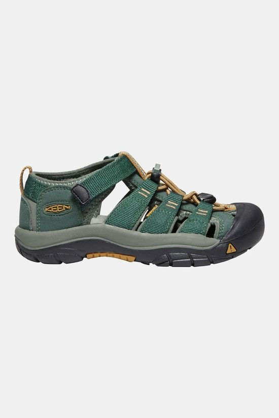 Keen Kids Youth Newport H2 Shoes Green Gables/Wood Thrush
