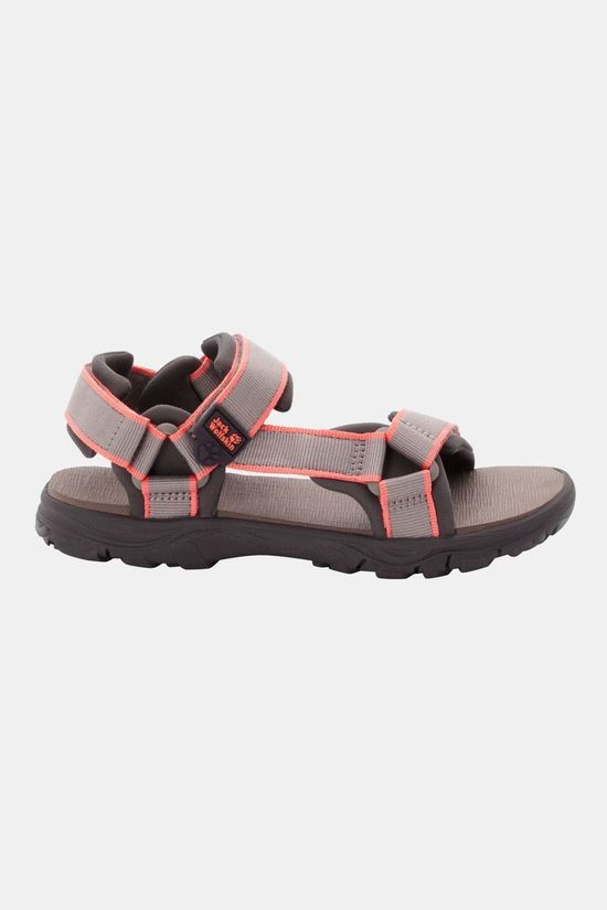 Jack Wolfskin Kids Seven Seas 3 Sandal Clay / Rose