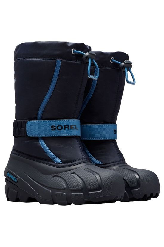 Sorel Youth Flurry Boot Collegiate Navy