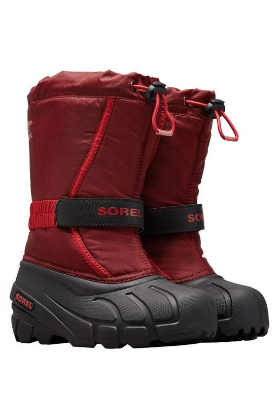 Sorel Youth Flurry Boot Red Jasper, Mou