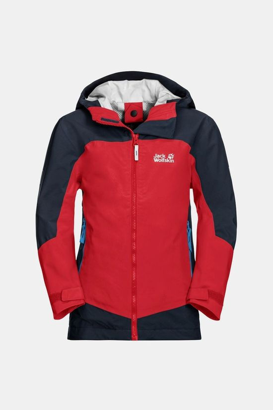 Jack Wolfskin Boys Ropi Jacket Peak Red