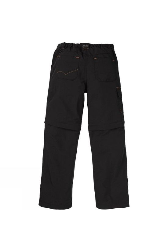 Regatta Kids Sorcer Zip-Off Trousers Ash