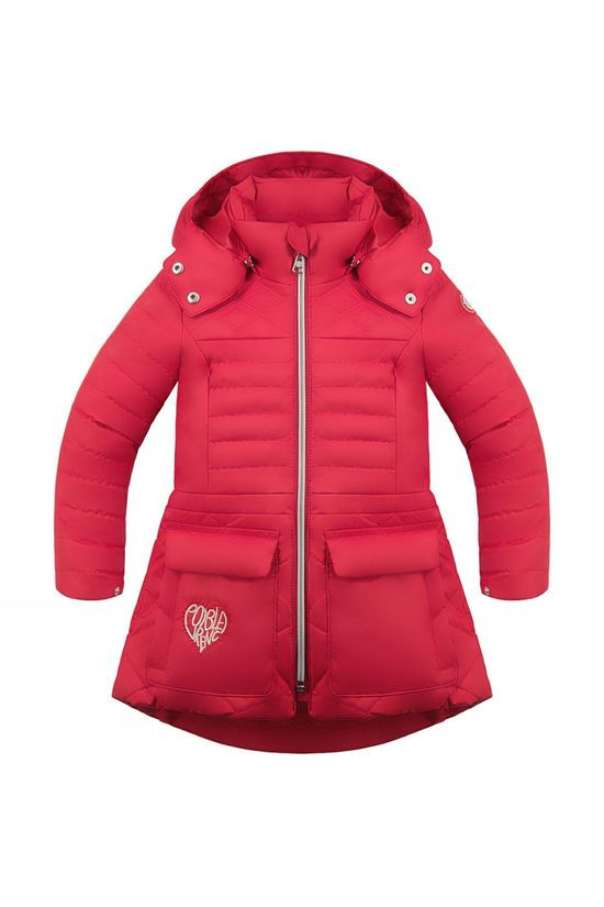 Poivre Blanc Kids Coat scarlet red4
