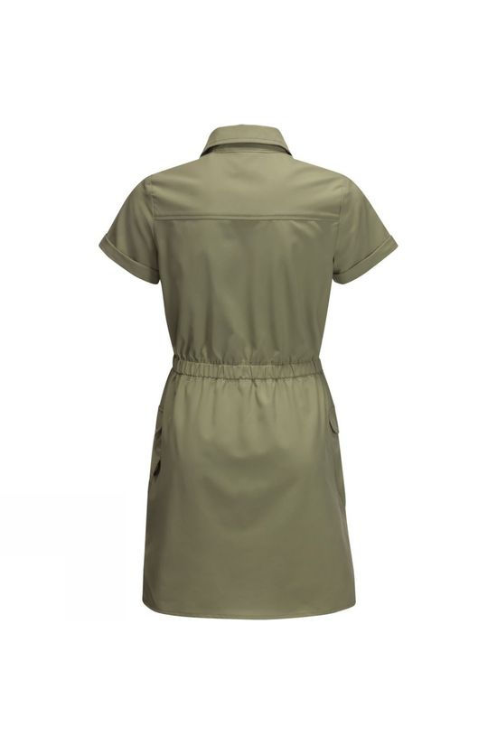 Jack Wolfskin Girls Treasure Hunter Dress 14+ Khaki