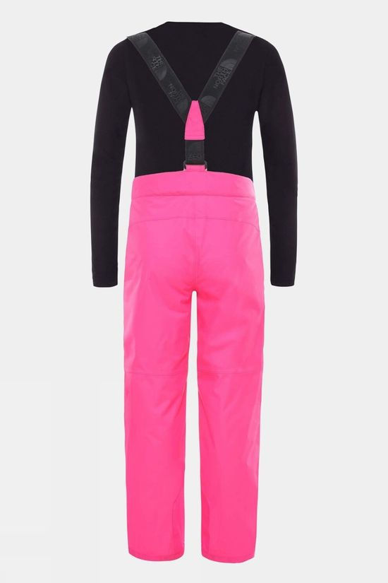 The North Face Youth Snowquest Suspender Plus Pant        Mr. Pink