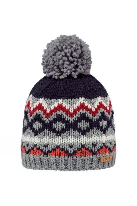Barts Monz Beanie Heather Grey