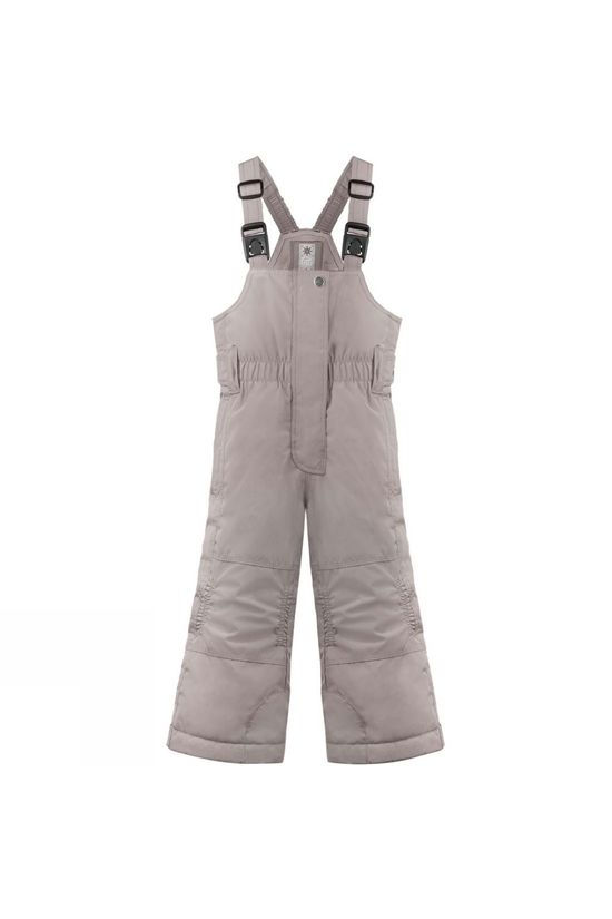 Poivre Blanc Girls Mini Bib Pant Soba Brown