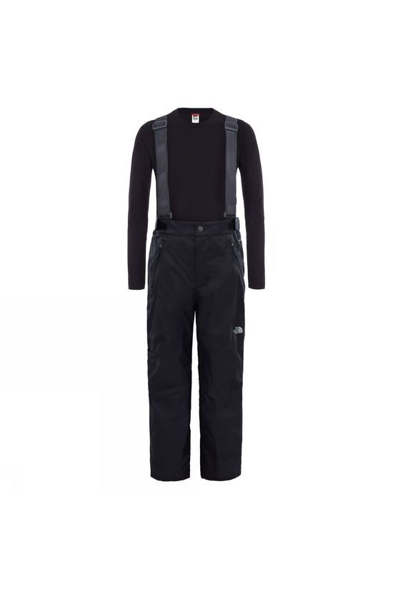 The North Face Youth Snowquest Suspender Plus Pant        TNF Black