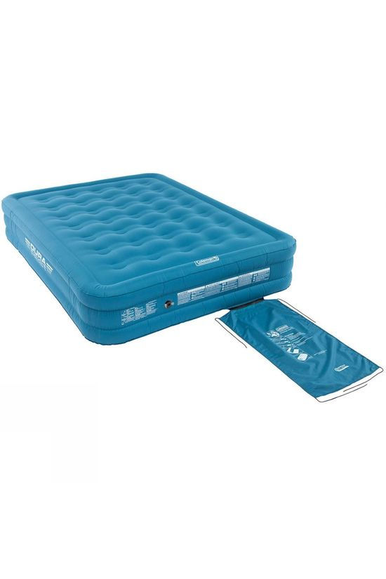 Coleman Extra Durable Raised Double Airbed Light Blue