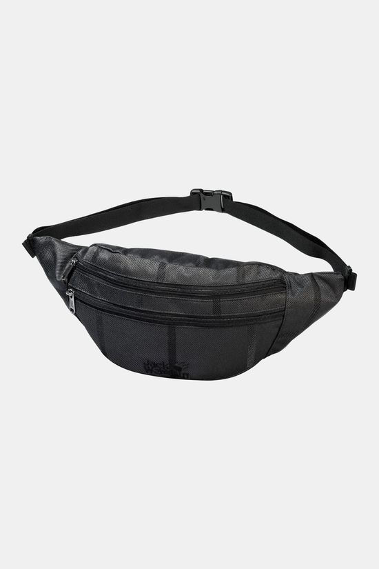 Jack Wolfskin Pac Me Y.D. Waist Pack Black Big Check