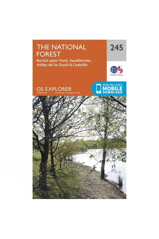 Ordnance Survey Explorer Map 245 The National Forest V15