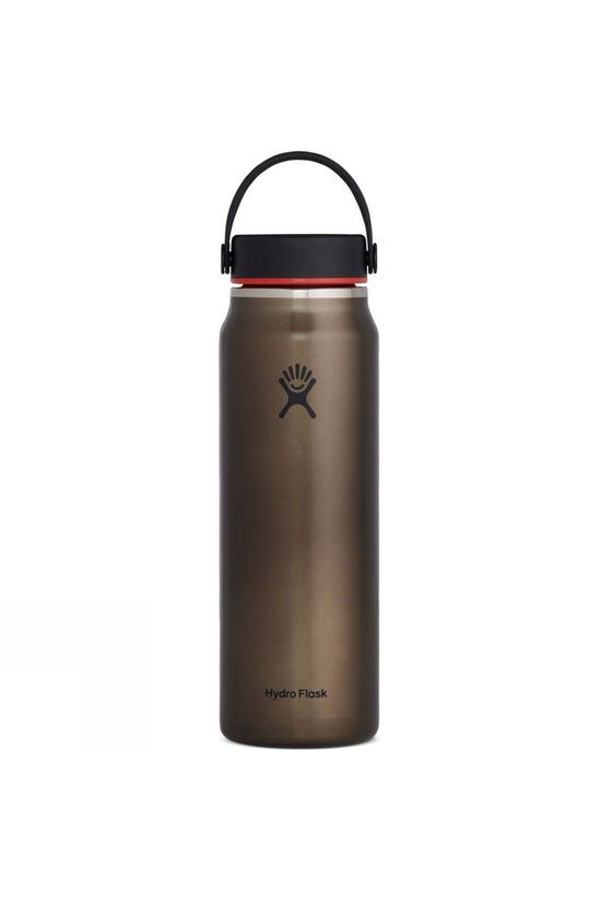 Hydro Flask Lightweight Wide Mouth Flask 32oz Obsidian