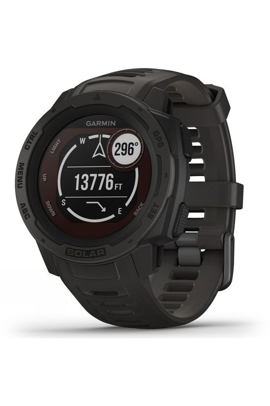 Garmin Instinct Solar GPS Watch Graphite