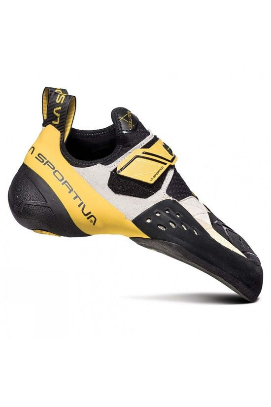 La Sportiva Mens Solution Climbing Shoe White/Yellow