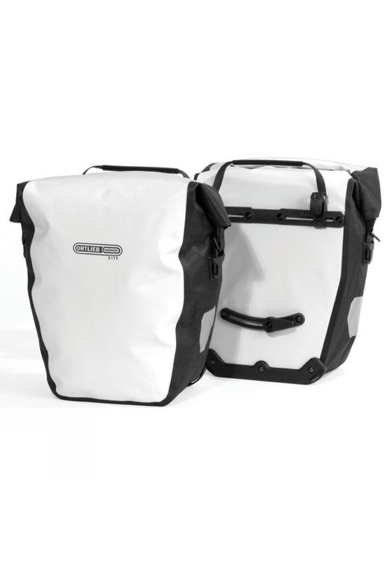 Ortlieb Back-Roller City Pannier (Pair) White/Black
