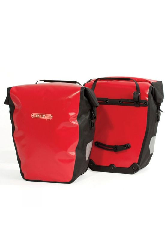 Ortlieb Back-Roller City Pannier (Pair) Red/Black