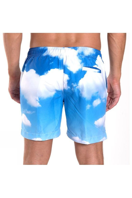 "Franks Mens Mid Length Volley Shorts 16"" Balgowan"