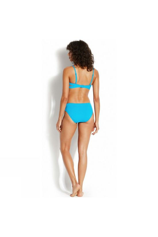 Seafolly Womens Active Swim Multi Strap Hipster Bikini Pant Electric Blue