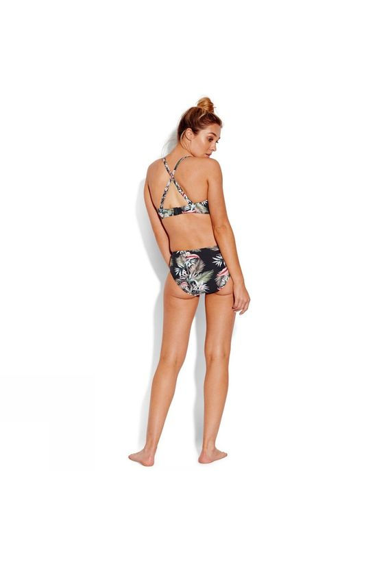 Seafolly  Ocean Alley Wide Side Retro Bikini Pants Black