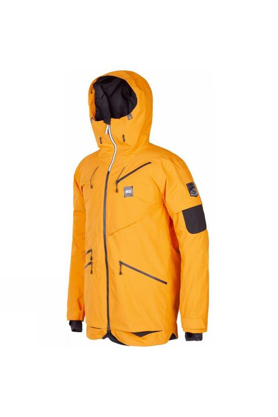 Picture Mens Zephir Jacket Gold
