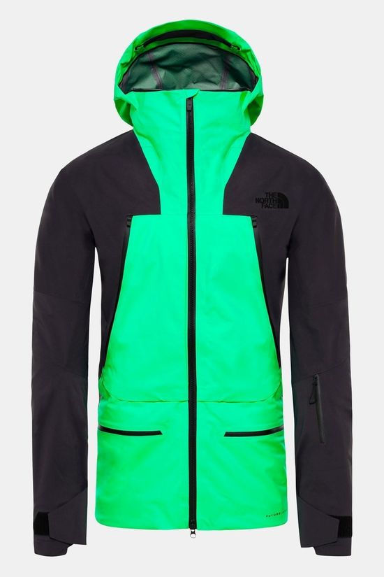 The North Face Mens Purist Futurelight Jacket Chlorophyll Green/Weathered Black