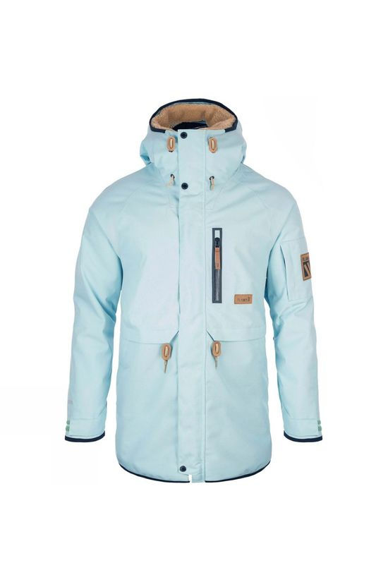 Planks The People's Parka Powder Blue