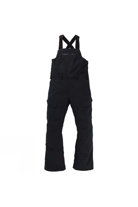 Burton Mens Reverse Bib Pant True Black