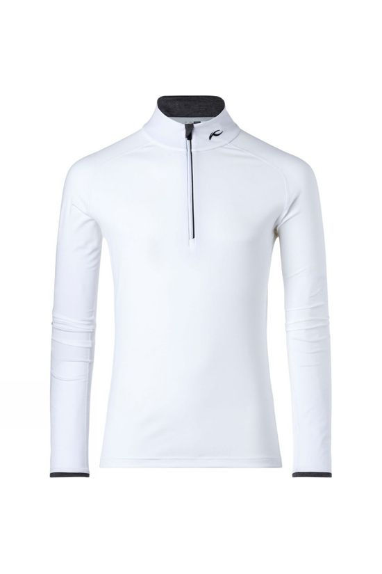 KJUS Feel Halfzip White