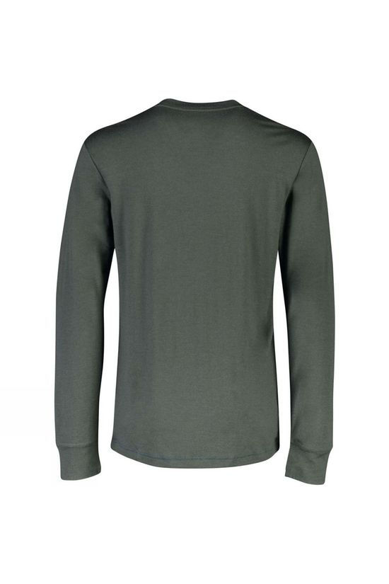 Mons Royale Mens Yotei Tech LS Crew Atlantic/Rosin