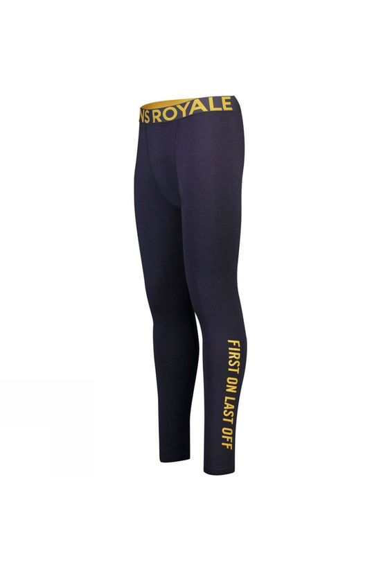 Mons Royale Men's Double Barrel Legging 9 Iron